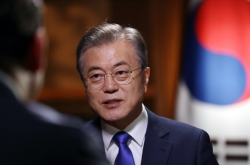 Moon stresses need for formal end to war, economic cooperation with NK