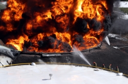 Police arrest Sri Lankan suspect in connection with oil storage tank fire
