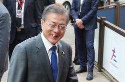 Moon pitches vision of regional railway bloc at Asia-Europe summit