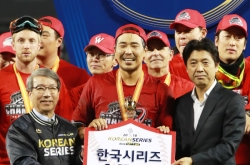 Korean Series MVP flaunts flair for dramatic