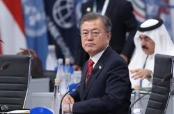 Moon calls for world support for nuclear-free Korea at G-20 summit