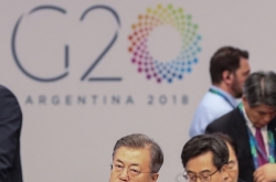 Moon urges immediate action by G-20 leaders to address climate change