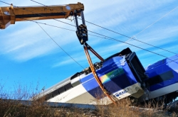 Cause of derailed KTX train investigated