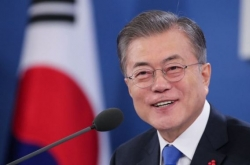 Moon calls on NK to take bolder denuclearization steps