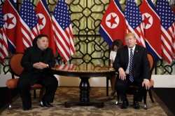 Kim, Trump express hopes for results