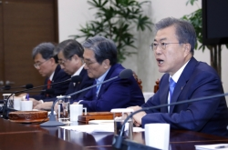 Moon calls for all-out efforts to support US-NK dialogue