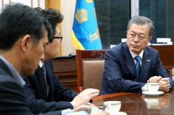 Moon calls for extraordinary measures to fight fine dust pollution