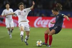 France beats S. Korea 4-0 in Women's World Cup opener