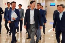 Samsung heir prepares for meeting with Saudi prince