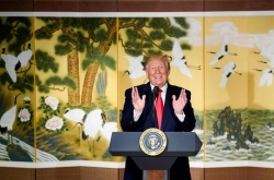 Trump on possible Kim encounter: 'He very much wants to'
