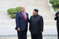 [Photo News] Photo News: Trump meets Kim Jong-un at Panmunjom, inter-Korean border village