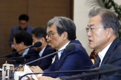 Moon urges Japan to reconsider export restrictions on Korean tech firms