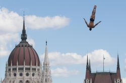 [Weekender] High diving: Plunging 27 meters in 3 seconds
