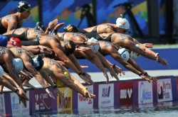 [Weekender] Expect faster swims at Yeosu open-water races