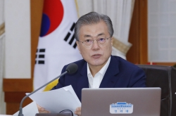 Moon's meeting with party leaders set for Thursday