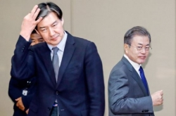 [News Focus] Moon's 40% support faces risks amid Cho Kuk scandals