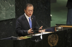 Moon proposes turning DMZ into 'peace zone'