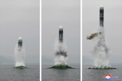 US says NK test was of short to medium range ballistic missile, fired from sea-based platform