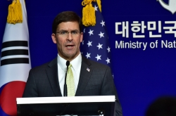 Wealthy South Korea should pay more for keeping US troops: Esper