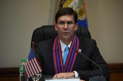 Esper refuses to speculate on US troops reduction in S. Korea
