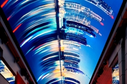 Samsung supplies super-size smart LED signage for MSC Grandiosa