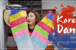 Korean dance, communication delivered through the body