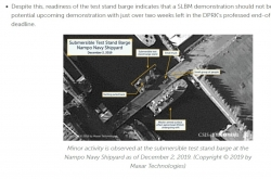 Activities resume on NK naval shipyard, SLBM demonstration should not be ruled out: think tank