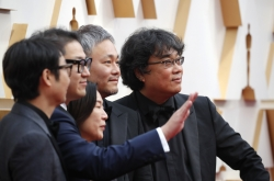 Bong Joon-ho lands best original screenplay with 'Parasite' at Oscars