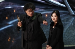 With best int'l feature, Bong Joon-ho says he is 'ready to drink'