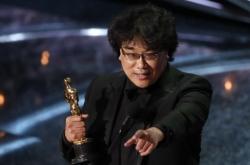 Oscars' best director Bong Joon-ho honors Martin Scorsese