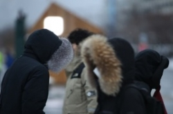 Season's heaviest snow pounds Seoul
