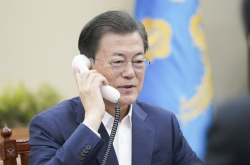 Moon's steps up summit diplomacy over COVID-19