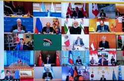 Full text of joint statement from G-20 virtual summit