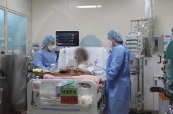 Korea's first lung transplant to COVID-19 patient successful