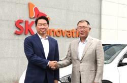 Hyundai, SK chiefs discuss next-gen lithium-metal EV battery