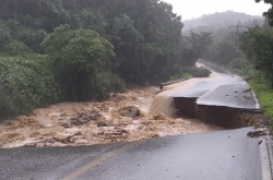 Heavy rains lash S. Korea, leaving 5 dead, 8 missing