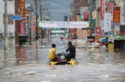 31 dead, 11 missing as heavy rain falls across S. Korea