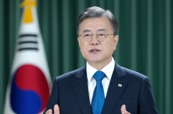 Moon calls for UN's support for ending Korean War