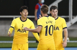 Tottenham's Son Heung-min stays hot in Europa League qualifier