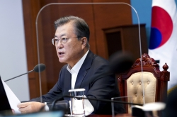 Moon pledges to nurture SMEs, startups as leaders of post-pandemic economy