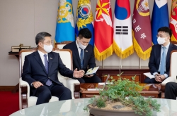 S. Korean defense chief, US commander vow strong cooperation for NK denuclearization