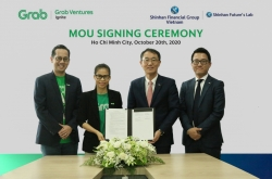 Shinhan Financial, Grab partner on digital finance services in Vietnam