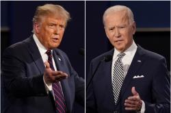 Biden, Trump locked in tight races in battleground states