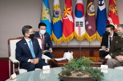 S. Korean defense chief, US army chief reaffirm alliance, vow cooperation