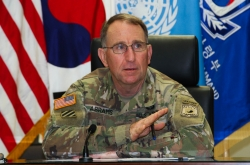 US commander says 'premature' to set date for wartime role handover