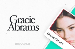 Gracie Abrams joins fan community Weverse