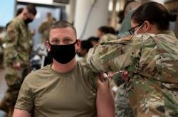 USFK-affiliated S. Korean civilians, troops begin getting COVID-19 vaccinations