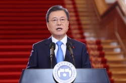 Moon says all S. Koreans will be given free COVID-19 vaccines