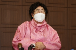 FM Chung meets victim of Japan's wartime sexual slavery