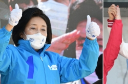 [Newsmaker] Poll shows opposition Seoul mayoral candidate has commanding lead over his ruling rival